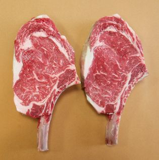 DRY AGED PRIME RIB CHOPS FRENCHED (2 PER PACK)