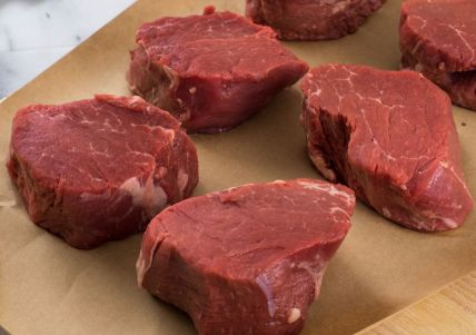New York State Grass Fed Filet Mignons, Four 6oz Filets