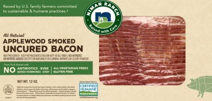 Niman Ranch Uncured Applewood Smoked Bacon