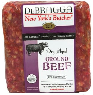 DRY AGED HAND SELECT GROUND BEEF