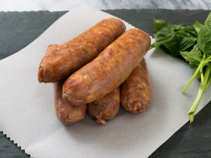 DEBRAGGA HOT CHILI SAUSAGES, 5 LINKS TO A PACK