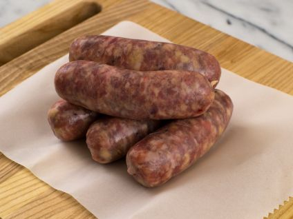 DeBragga NATURALLY RAISED PORK AND APPLE SAUSAGES, 5 LINKS TO A PACK