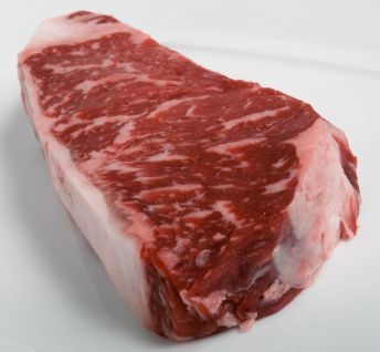 PRIME NEW YORK STRIP STEAKS (4 per pack)