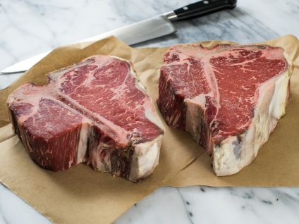 Dry Aged Hand Select Porterhouse Steak (2 Per Pack)