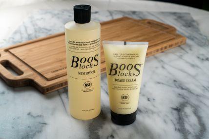 John Boos Mystery Oil and Cream Set